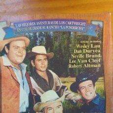Cine: PACK DVD - LOTE BONANZA - COLECCIÓN 5 DISCOS - DESCATALOGADO. Lote 171159759
