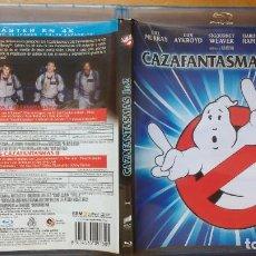 Cine: PACK DVD - LOTE LOS CAZAFANTASMAS I Y II - COLECCIÓN 1 Y 2 - PACKAGING DE BLU RAY. Lote 171161455