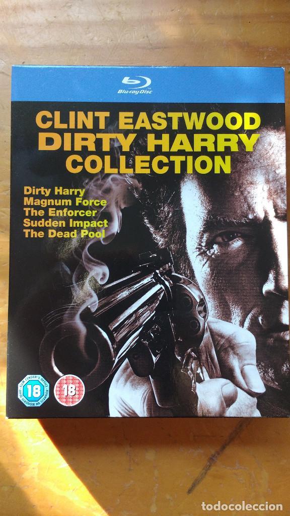 PACK DVD - LOTE HARRY EL SUCIO - COLECCIÓN 5 DISCOS - PACKAGING DE BLU RAY (Cine - Películas - DVD)