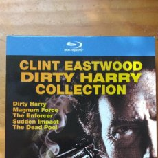 Cine: PACK DVD - LOTE HARRY EL SUCIO - COLECCIÓN 5 DISCOS - PACKAGING DE BLU RAY. Lote 171163065