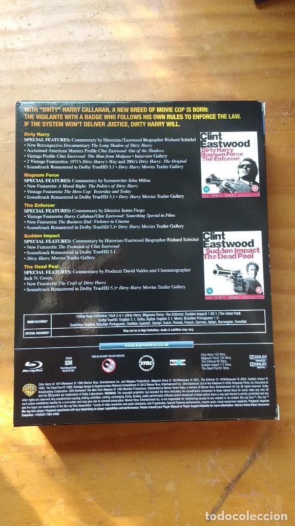 Cine: PACK DVD - LOTE HARRY EL SUCIO - COLECCIÓN 5 DISCOS - PACKAGING DE BLU RAY - Foto 2 - 171163065