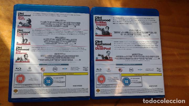 Cine: PACK DVD - LOTE HARRY EL SUCIO - COLECCIÓN 5 DISCOS - PACKAGING DE BLU RAY - Foto 7 - 171163065