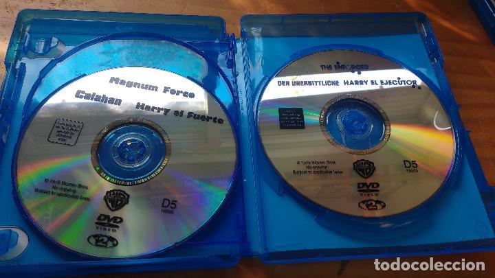 Cine: PACK DVD - LOTE HARRY EL SUCIO - COLECCIÓN 5 DISCOS - PACKAGING DE BLU RAY - Foto 9 - 171163065