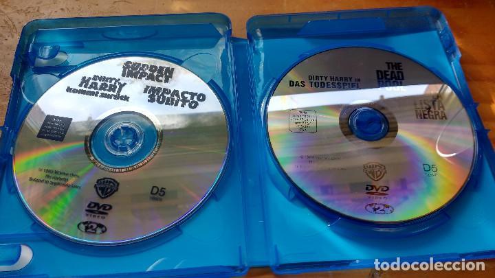Cine: PACK DVD - LOTE HARRY EL SUCIO - COLECCIÓN 5 DISCOS - PACKAGING DE BLU RAY - Foto 10 - 171163065