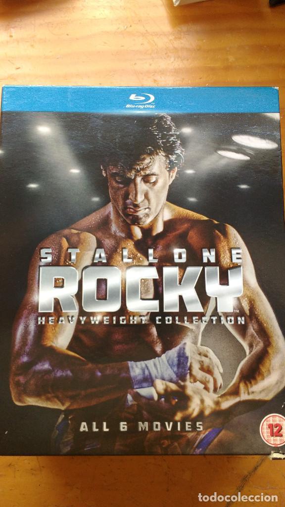 PACK DVD - LOTE ROCKY (SÉIS PELÍCULAS) - COLECCIÓN 6 DISCOS - PACKAGING DE BLU RAY (Cine - Películas - DVD)