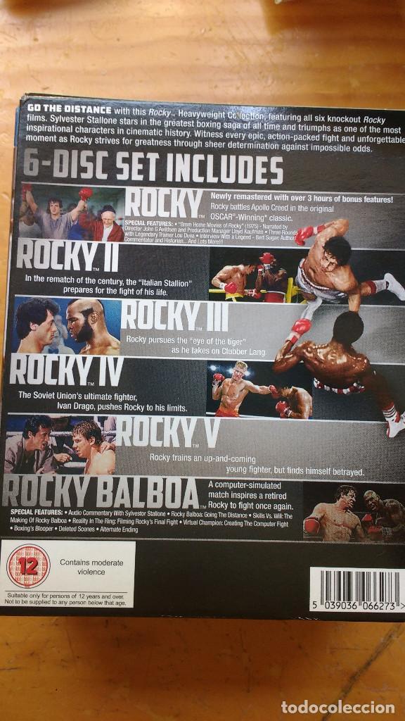 Cine: PACK DVD - LOTE ROCKY (SÉIS PELÍCULAS) - COLECCIÓN 6 DISCOS - PACKAGING DE BLU RAY - Foto 2 - 171165809
