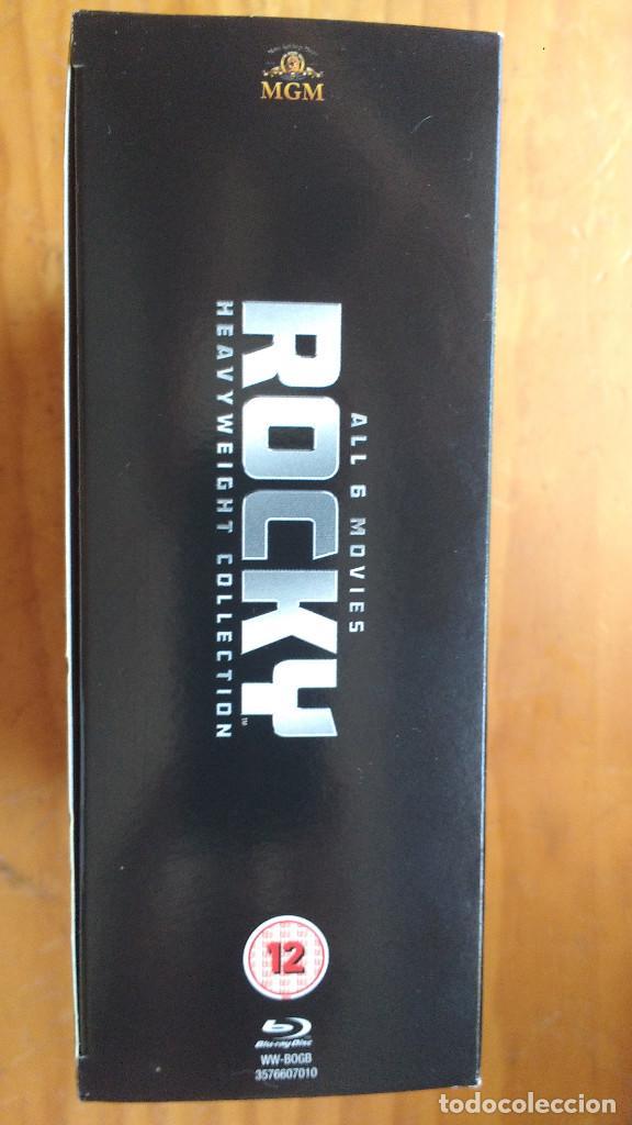 Cine: PACK DVD - LOTE ROCKY (SÉIS PELÍCULAS) - COLECCIÓN 6 DISCOS - PACKAGING DE BLU RAY - Foto 3 - 171165809
