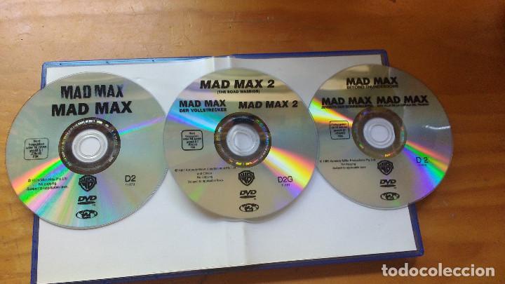 PACK DVD - MAD MAX (LA TRILOGÍA - 1979, 1981, 1985) - COLECCIÓN 3 DISCOS ORIGINALES Y DESCATALOGADOS (Cine - Películas - DVD)
