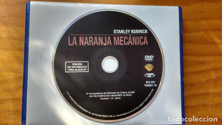 LA NARANJA MECÁNICA (A CLOCKWORK ORANGE) (1971) - DVD EDICIÓN COLECCIÓN STANLEY KUBRICK (Cine - Películas - DVD)