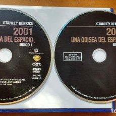 Cine: 2001: UNA ODISEA DEL ESPACIO (2001: A SPACE ODYSSEY, 1968) - 2 DVD EDICIÓN COLECCIÓN STANLEY KUBRICK. Lote 171170405