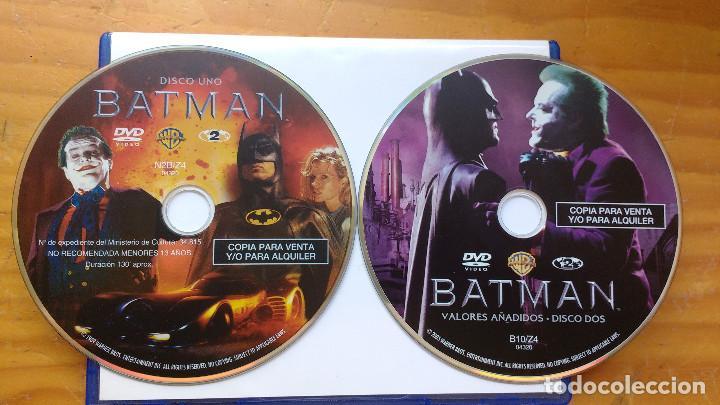 BATMAN (1989) - DVD EDICIÓN 2 DISCOS ORIGINALES (Cine - Películas - DVD)