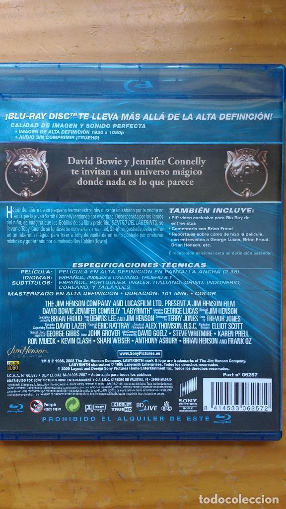 Cine: DVD - DENTRO DEL LABERINTO - EDICIÓN DEL COLECCIONISTA WideScreen Deluxe - PACKAGING DE BLU RAY - Foto 2 - 171178227