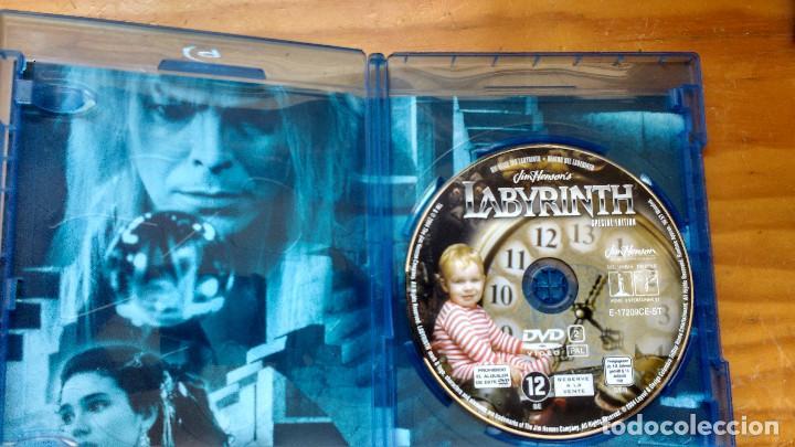 Cine: DVD - DENTRO DEL LABERINTO - EDICIÓN DEL COLECCIONISTA WideScreen Deluxe - PACKAGING DE BLU RAY - Foto 4 - 171178227