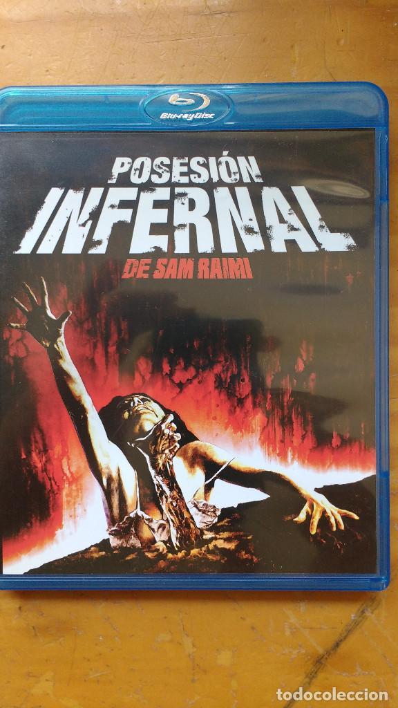 DVD - POSESIÓN INFERNAL (THE EVIL DEAD, 1981) - PACKAGING DE BLU RAY (Cine - Películas - DVD)