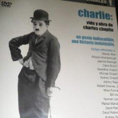 Cine: PELÍCULA DVD. CHARLIE: VIDA Y OBRA DE CHARLES CHAPLIN. NUEVA. PRECINTADA. Lote 171187510