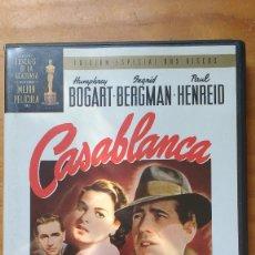 Cine: CASABLANCA (1942) - EDICION ESPECIAL 2 DISCOS - DVD. Lote 171196140