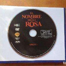 Cine: EL NOMBRE DE LA ROSA (DER NAME DER ROSE (LE NOM DE LA ROSE), 1986) - DVD ORIGINAL Y DESCATALOGADO. Lote 171197223