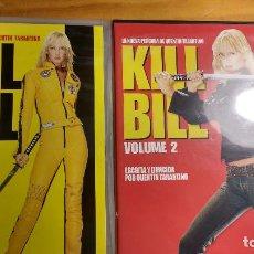 Cine: KILL BILL - LOTE VOLUME 1 Y 2 - COLECCIÓN DVD - DOS DISCOS. Lote 171199449