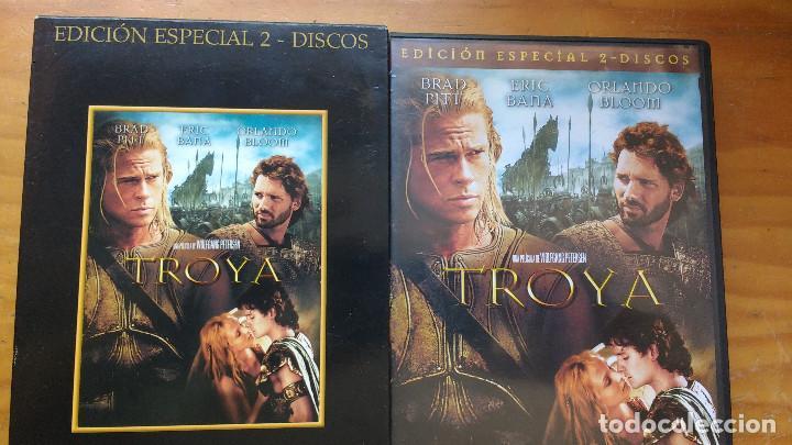 TROYA (TROY, 2004) - DVD - EDICIÓN ESPECIAL - 2 DISCOS - INCLUYE ESTUCHE EXTRA DE CARTÓN DURO (Cine - Películas - DVD)
