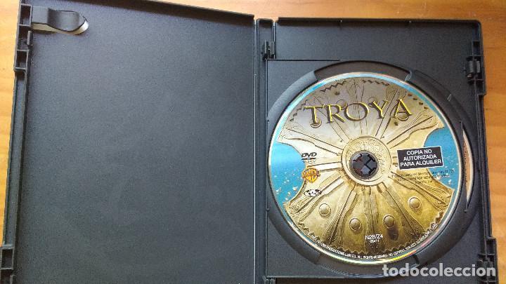 Cine: TROYA (Troy, 2004) - DVD - EDICIÓN ESPECIAL - 2 DISCOS - INCLUYE ESTUCHE EXTRA DE CARTÓN DURO - Foto 3 - 171201138