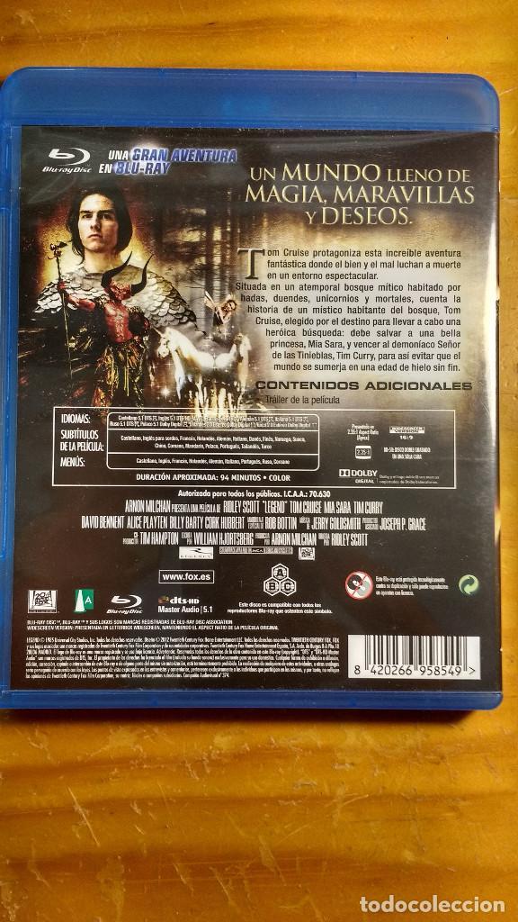 Cine: DVD - LEGEND (1985) - PACKAGING DE BLU RAY - Foto 2 - 171202133
