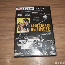 Cine: APUESTA POR UN JINETE EDICION ESPECIAL DVD + LIBRO ROBERT TAYLOR DOROTHY MALONE NUEVA PRECINTADA. Lote 262551825