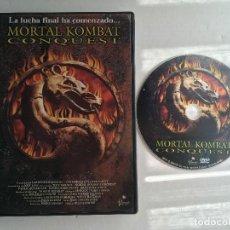 Cine: MORTAL KOMBAT CONQUEST DVD KREATEN. Lote 171306954