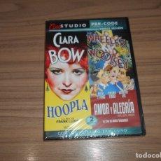 Cine: PACK HOOPLA + AMOR Y ALEGRIA EDICION ESPECIAL DVD + LIBRO NUEVA PRECINTADA. Lote 171307454