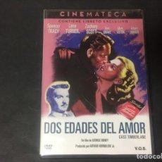 Cine: DVD DOS EDADES DEL AMOR V.O. SUB. GEORGE SIDNEY SPENCER TRACY LANA TURNER INCLUYE LIBRETO 24 PAGS. Lote 171316025