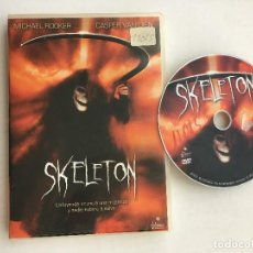 Cine: SKELETON MICHAEL ROOKER CASPER VQAN DIEN DVD VIDEO KREATEN. Lote 171344065