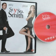 Cine: SR Y SRA SMITH BRAD PITT ANGELINA JOLIE DVD VIDEO KREATEN. Lote 171345483