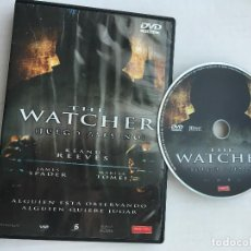 Cine: THE WATCHER JUEGO ASESINO KEANU REEVES DVD VIDEO KREATEN. Lote 171345604