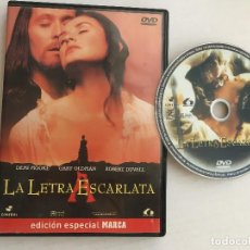 Cine: LA LETRA ESCARLATA DVD VIDEO KREATEN. Lote 171346839