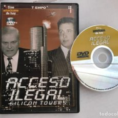 Cine: ACCESO ILEGAL SILICON TOWERS DVD VIDEO KREATEN. Lote 171347955