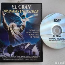 Cine: EL GRAN MUNDO INVISIBLE DVD VIDEO KREATEN. Lote 171348009