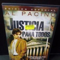 Cine: JUSTICIA PARA TODOS - DVD. Lote 171348558