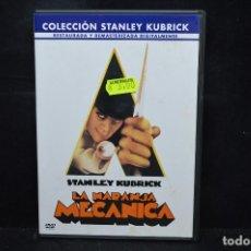Cine: LA NARANJA MECANICA - DVD. Lote 171348807
