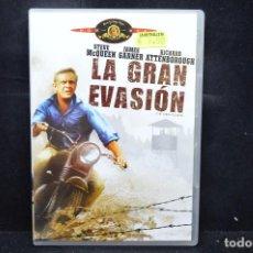 Cine: LA GRAN EVASION - DVD. Lote 171348895
