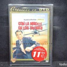 Cine: CON LA MUERTE EN LOS TALONES - DVD. Lote 171349165