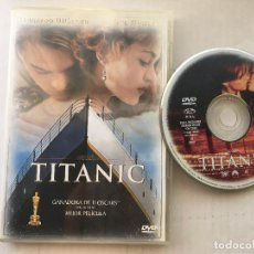 Cine: TITANIC JAMES CAMERON LEONARDO DI CAPRIO KATE WINSLET DVD VIDEO KREATEN. Lote 171437943
