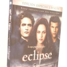 Cine: DVD EDICION ESPECIAL 2 DISCOS (ECLIPSE).. Lote 171447405
