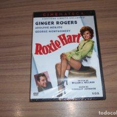 Cine: ROXIE HART EDICION ESPECIAL DVD + LIBRO GINGER ROGERS NUEVA PRECINTADA. Lote 171480512