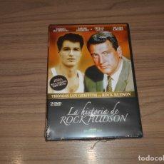 Cine: LA HISTORIA DE ROCK HUDSON EDICION ESPECIAL 2 DVD 151 MIN. NUEVA PRECINTADA. Lote 186212600