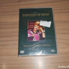 Cine: SE HA ESCRITO UN CRIMEN TEMPORADA 10 COMPLETA DVD 938 MIN. NUEVA PRECINTADA. Lote 171480835