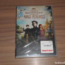 Cine: EL HOGAR MISS PEREGRINE PARA NIÑOS PECULIARES DVD DE TIM BURTON NUEVA PRECINTADA. Lote 171481080