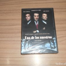 Cine: UNO DE LOS NUESTROS DVD ROBERT DE NIRO RAY LIOTTA JOE PESCI WARNER NUEVA PRECINTADA. Lote 171487174