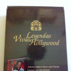 Cine: DVD -SIDNEY POITIER - ESTUCHE TIPO MADERA CON 5 DVD Y UN LIBRO (LEYENDAS VIVAS DE HOLLYWOOD. Lote 171509354