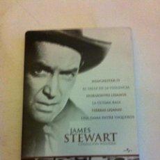 Cine: JAMES STEWART - ESTUCHE METÁLICO CON 6 DVD. Lote 171509738