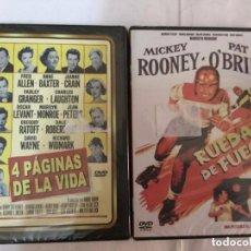 Cine: DVD - LOTE DE 2 - (L4 PÁGINAS DE LA VIDA Y RUEDAS DE FUEGO)- PRECINTO - MARILYN MONROE. Lote 171510682