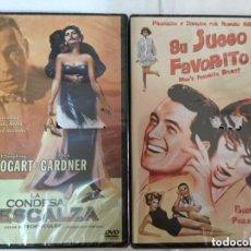 Cine: DVD - LOTE DE 2 - (LA CONDESA DESCALZA Y SU JUEGO FAVORITO)- PRECINTO. Lote 171510883